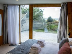 The Houseboat Poole Poole Hamworthy Dorset Captains Quarters Bedroom 2 Award Winning Holiday Property